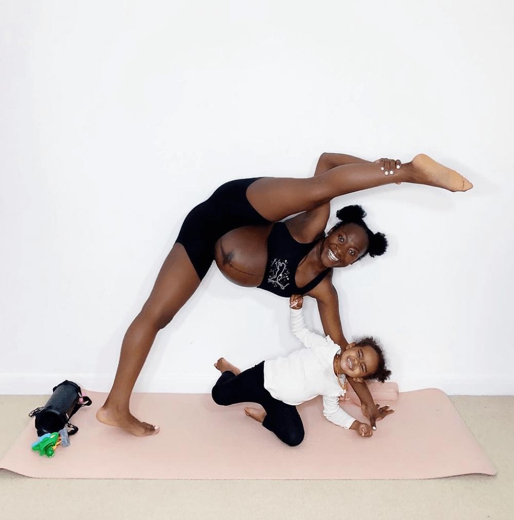 pregnant, pregnancy exercise, pregnant work out, pregnancy myths, black pregnant mum, second time mum
