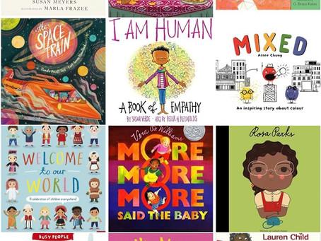 Top 5 Baby Books on Race & Diversity
