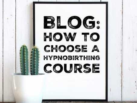 How to Choose a Hypnobirthing Course