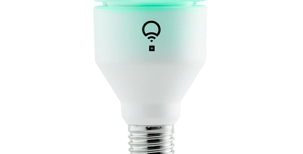 Bec LED inteligent LIFX A19, Color, Wi-Fi, 1100lm, E27