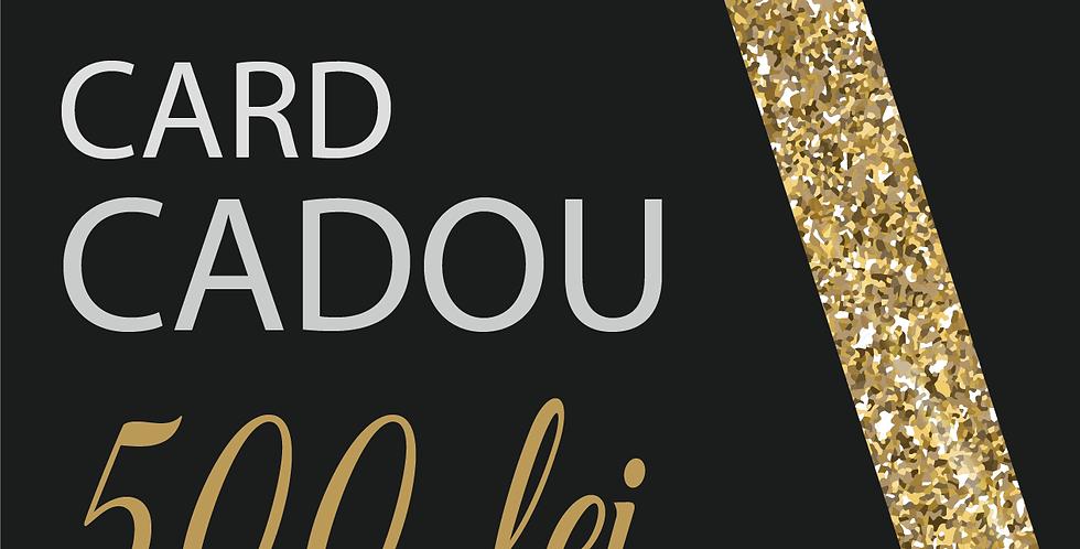 Card Cadou, 500 lei