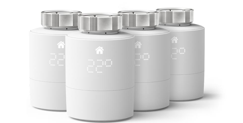 Pachet 4 capete termostatice, Tado Smart Radiator Thermostat v3+