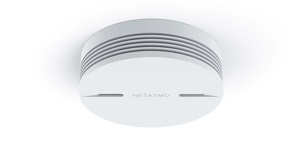 Senzor de fum smart Netatmo, Homekit