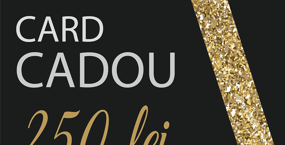 Card Cadou, 250 lei
