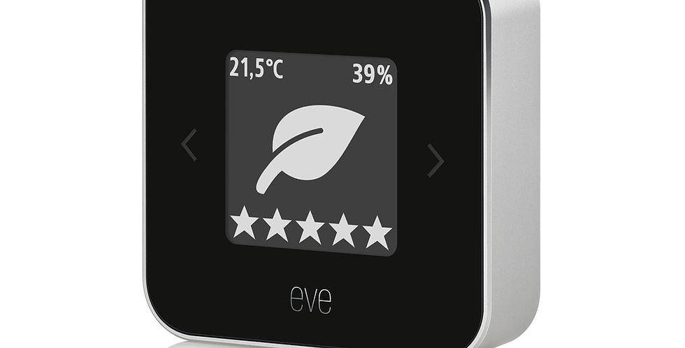 Stație inteligentă calitate aer, temperatură și umiditate, Eve Room, HomeKit