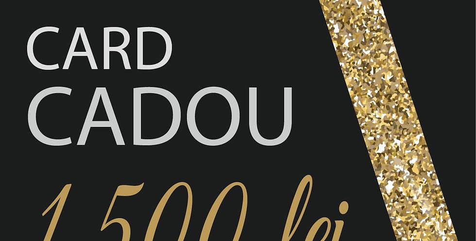 Card Cadou, 1500 lei