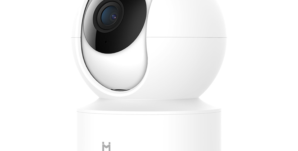 Camera smart Xiaomi IMILAB 360° 1080P Pan/Tilt, Wi-Fi, detectare planset bebelus