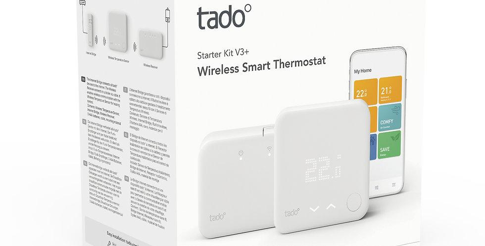 Pachet climatizare inteligentă wireless pentru centrală termică, Tado v3+