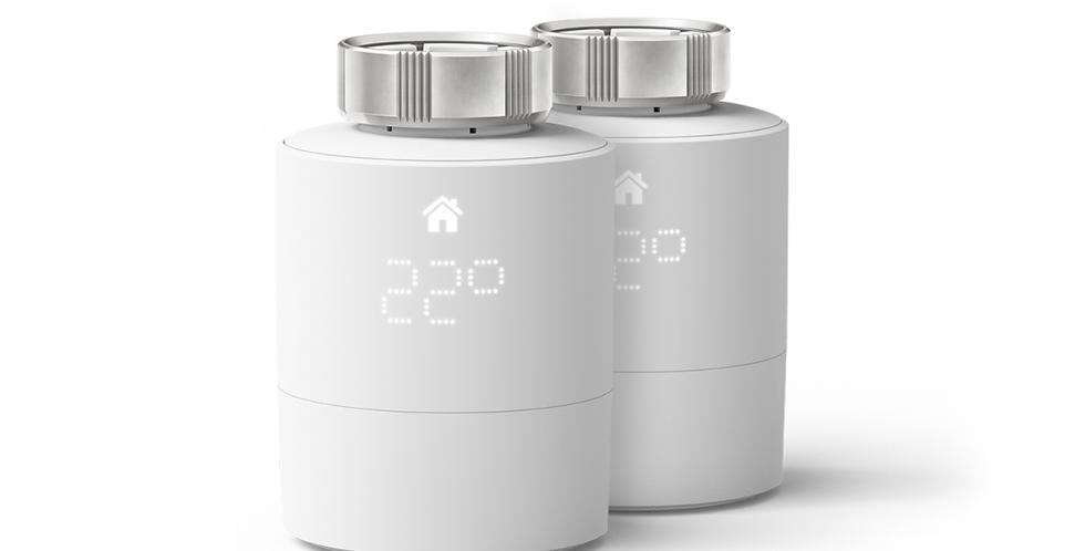 Pachet 2 capete termostatice, Tado Smart Radiator Thermostat v3+
