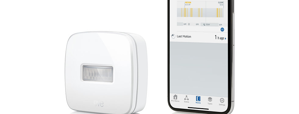 Senzor de mișcare inteligent Eve Motion, HomeKit
