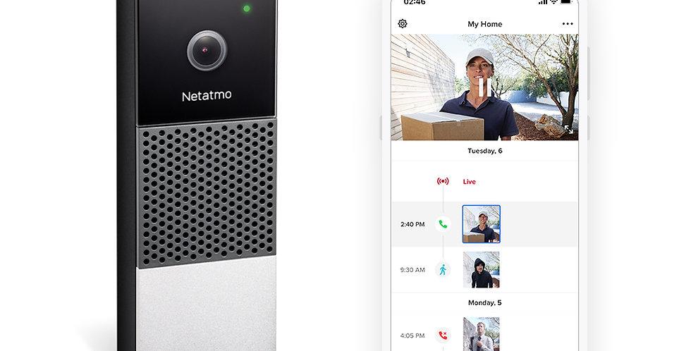 Netatmo Video Doorbell, video-sonerie inteligenta