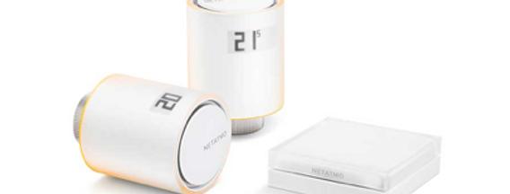 Pachet climatizare inteligentă wireless pentru termoficare, Netatmo