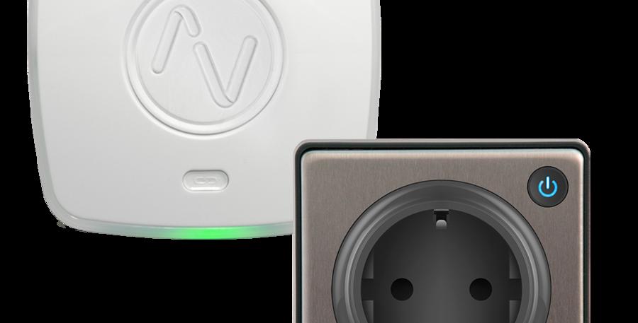Starter Kit cu Priză inteligentă și hub inteligent Lightwave, HomeKit