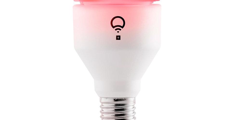 Bec LED inteligent LIFX A19+, Color, Night vision, Wi-Fi, 1100lm, E27