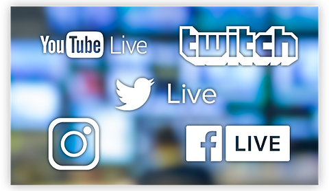 Live Streaming to  Social Media