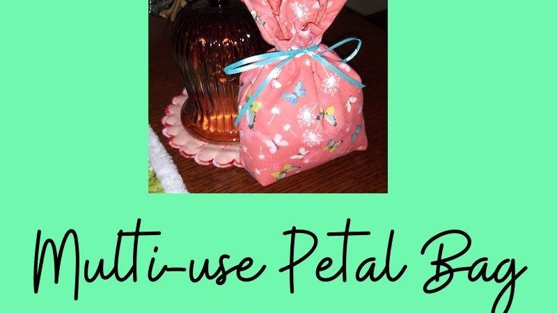 Multi-Use Petal Bag