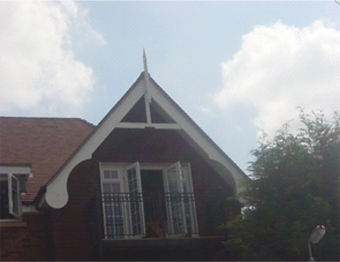 Gable End and Finial