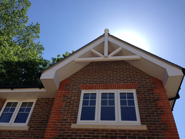 Gable End Finial and Spider
