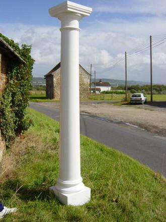 Curley GRP Round Column
