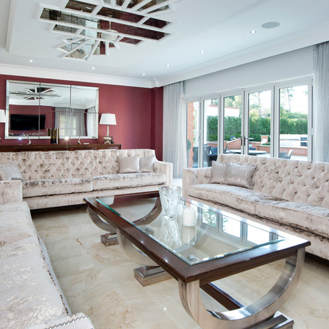 Laminating Living Room