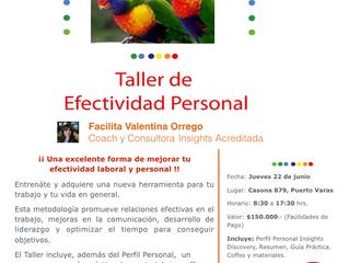 Taller Efectividad Personal / Colores