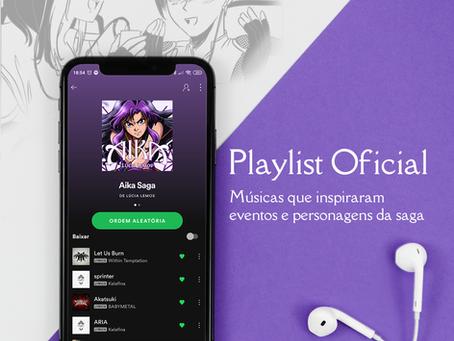 A trilha sonora da Saga Aika: playlists no Spotify