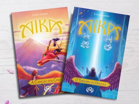 Pré-venda dos livros de Aika! (e capa nova revelada!)