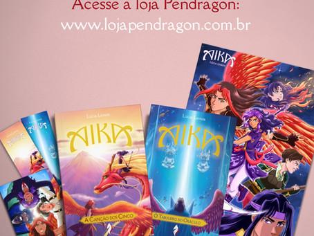 Pré-venda de Aika em versão impressa (e com brindes!)