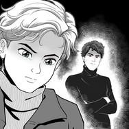 Manga poster for Wattpad horror e-book