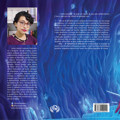 Capa aberta do livro Aika - o tabuleiro do oráculo (2020)