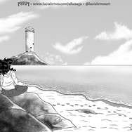 Aika Saga 2 - meditation on the beach