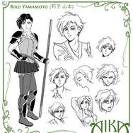Model Sheet - Riko Yamamoto [Aika Saga]