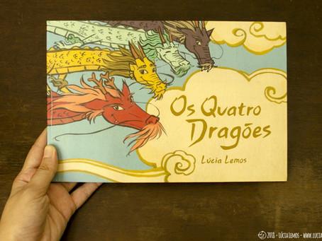 Os Quatro Dragões em pré-venda!