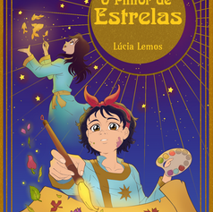 """Capa para e-book """"O Pintor de Estrelas"""""""