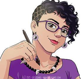 Avatar da autora, ilustradora e designer Lúcia Lemos