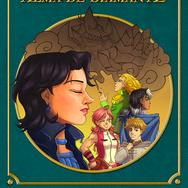 """Cover for the second book of the saga Matter: """"Alma de Diamante"""""""