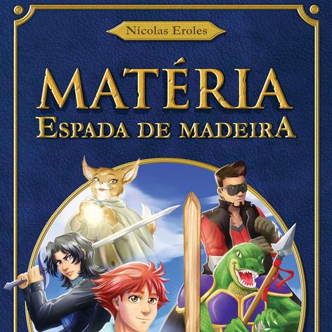 Capa de Matéria - Espada de Madeira