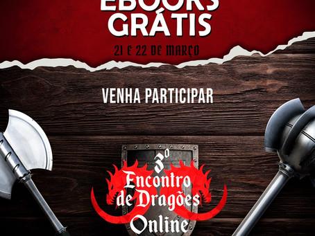 Livros gratuitos na Terceira Maratona Literária Online da Editora PenDragon!