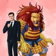 Rodrick and his Lion