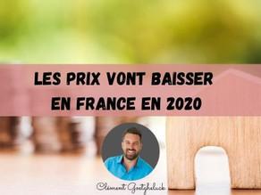 Immobilier: les prix vont baisser en France en 2020, selon S&P