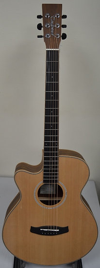 Tanglewood Discovery Exotic Electro Acoustic Guitar Left Hand