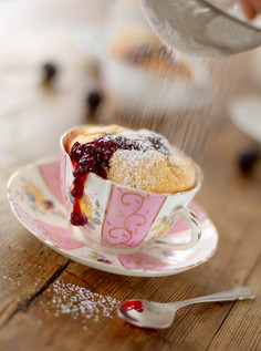 Tea cup sponge