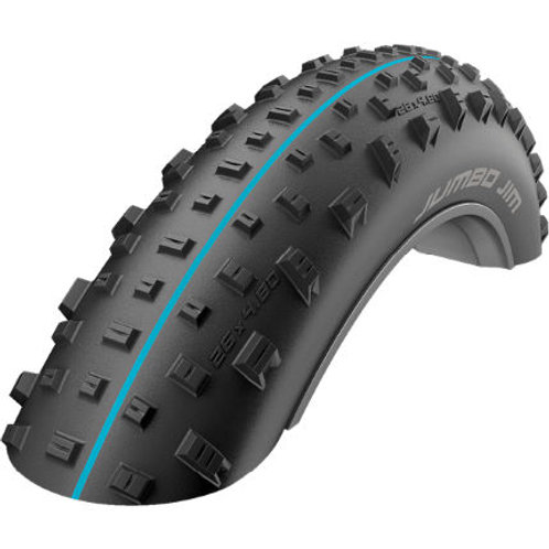 Schwalbe Jumbo Jim EVO TLE ADDIX Folding MTB Tyre