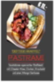 Pastrami Waffel
