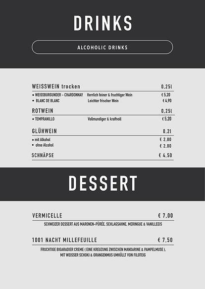 Wein, Dessert
