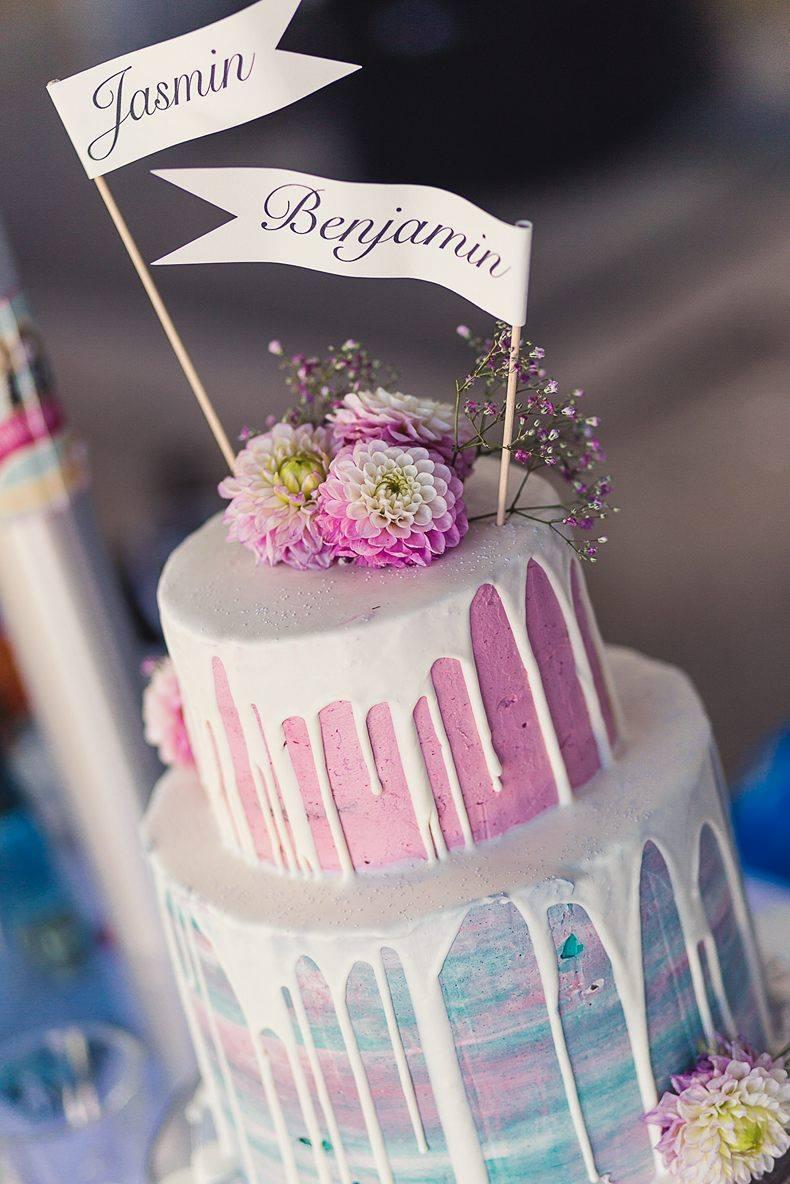Hochzeits-Torte