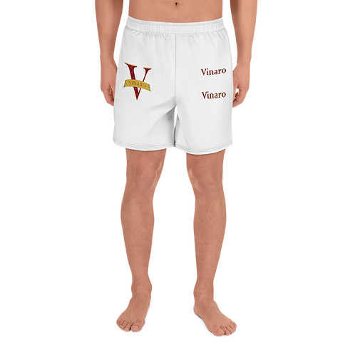 Vinaro Men's Athletic Long Shorts