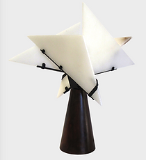 NUN table lamp by Pierre CHAREAU edited