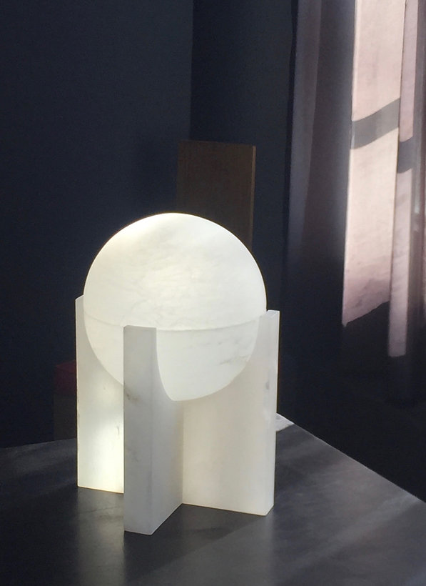 SPHERE table lamp by Pierre CHAREAU edit