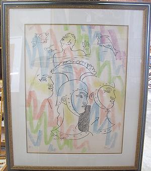 Jean Cocteau _la chapelle St-Jean_ aix e